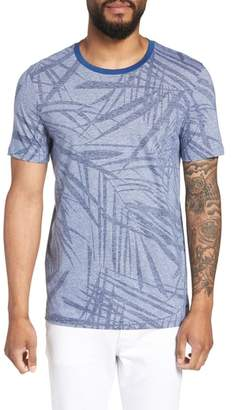 BOSS Tessler Slim Fit Palm Print T-Shirt