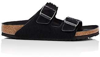 Birkenstock Women's Arizona Hair-On-Hide Double-Buckle Sandals - Black