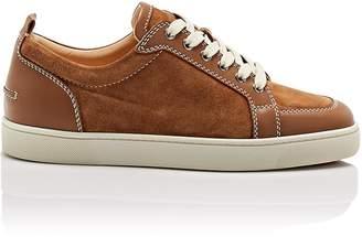Christian Louboutin Men's Rantulow Orlato Flat Leather Sneakers