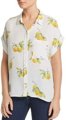 Rails Whitney Lemon Print Shirt