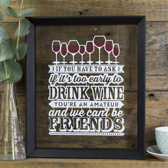 Kyleigh's Papercuts Wine Lover Papercut