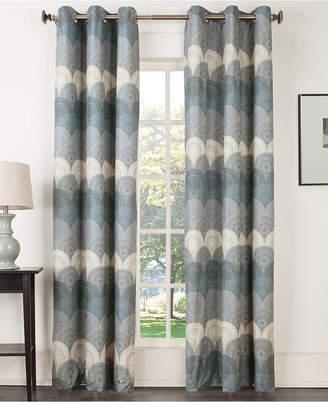 "Sun Zero Deco Thermal Lined Curtain 40"" x 84"" Panel"