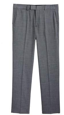 Mango Man MANGO MAN Micro print regular-fit suit trousers