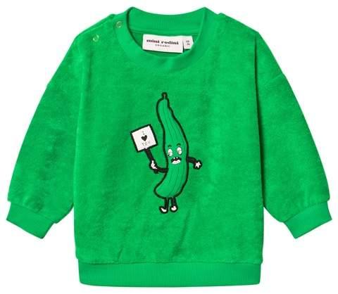 Green Cucumber Terry Sweatshirt