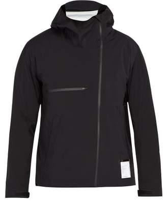 Satisfy Shell Running Jacket - Mens - Black