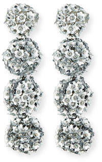 Sachin + Babi Fleur Bouquet Clip-On Earrings