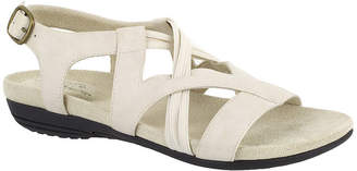 Easy Street Shoes Womens Jessica Adjustable Strap Flat Sandals