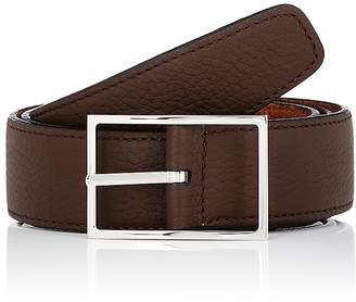 Simonnot Godard Men's Reversible Leather Belt