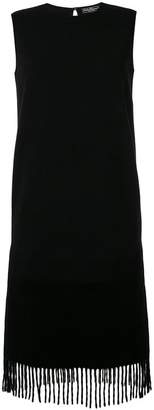 Salvatore Ferragamo fringed trimmed dress