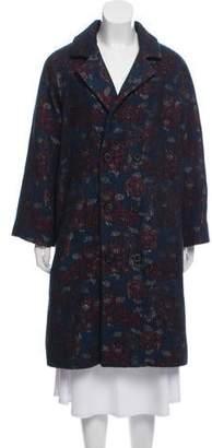 Billy Reid Double-Breasted Long Coat