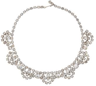 Susan Caplan Vintage 1950s Vintage Brilliant Crystal Swag Necklace