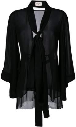 Ikonostas sheer bow detail gown