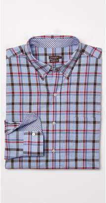 J.Mclaughlin Westend Modern Fit Shirt in Plaid
