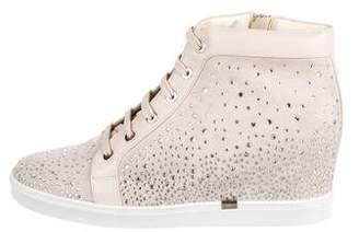 Loriblu Embellished Wedge Sneakers