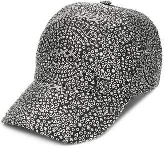 Ermenegildo Zegna XXX all-over printed cap