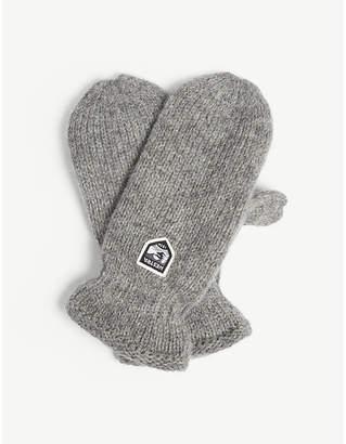 HESTRA Thinsulate wool mittens