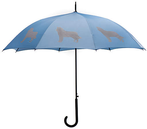Niagara Blue & Silver Siberian Husky Umbrella