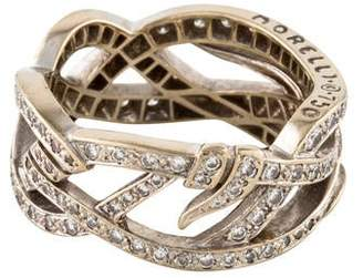 Paul Morelli 18K Diamond Nouveau Band