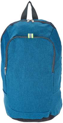 Kikkerland Convertible Backpack with Contrast Piping Detail