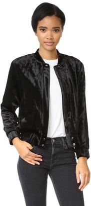 Joe's Jeans Lexi Bomber Jacket $298 thestylecure.com