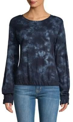 Sanctuary Sia Tie-Dye Cotton Pullover