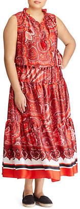 Lauren Ralph Lauren Plus Sleeveless Casual Dress