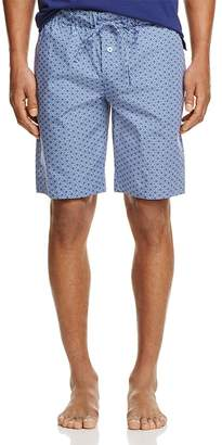 Hanro Harvey Tile Print Lounge Shorts $125 thestylecure.com