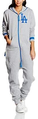 One Piece OnePiece Unisex La Dodgers Jumpsuits, Grey-Grau (Grey), 32 (Herstellergröße: XXS)
