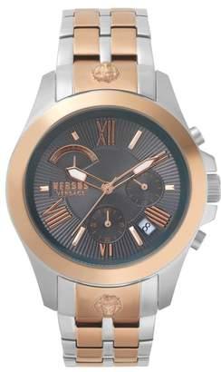 Versace Lion Chronograph Bracelet Watch, 44mm
