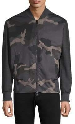 Neil Barrett Camoflage Bomber Jacket