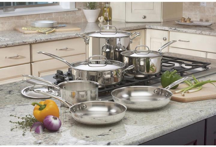 Cuisinart Cuisinart Chef's Classic 10-Piece Cookware Set in Stainless