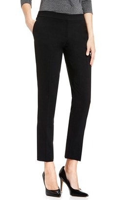 Women's Vince Camuto Textured Skinny Ankle Pants $89 thestylecure.com