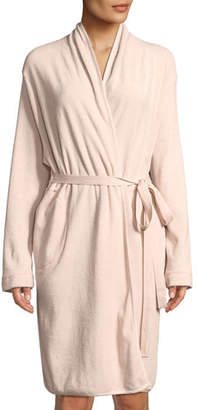 Skin French Terry Short Robe