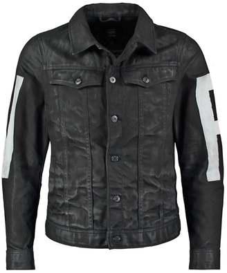 93e6cab7af20 G Star GStar 3301 3D SLIM JKT PAINTED IP Denim jacket hoist black denim
