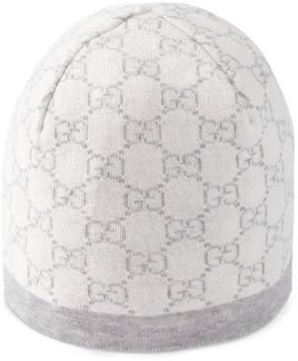 77686e5228d Gucci Kids Children s GG pattern wool hat