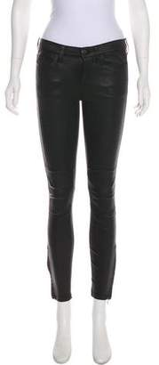 Current/Elliott Leather Skinny Pants