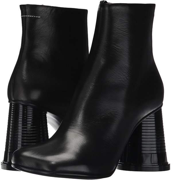 MM6 Maison Margiela - Hollow Cup Heel Boot Women's Boots