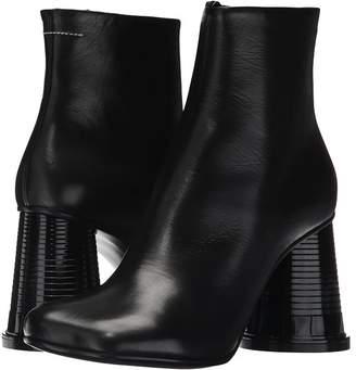 MM6 MAISON MARGIELA Hollow Cup Heel Boot Women's Boots