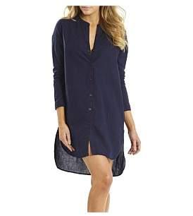 Sunseeker Linen Overshirt Dress