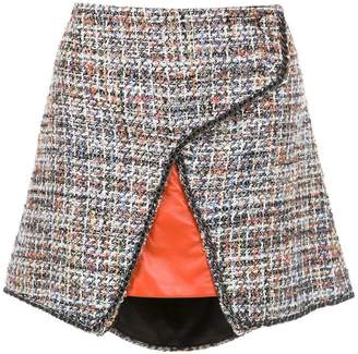 Andrea Bogosian tweed skirt