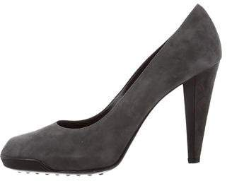 Tod's Pointed-Toe Suede Pumps w/ Tags