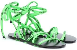 Balenciaga Lace-up sandals