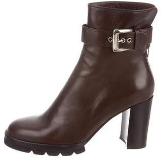 Walter Steiger Leather Ankle Boots w/ Tags