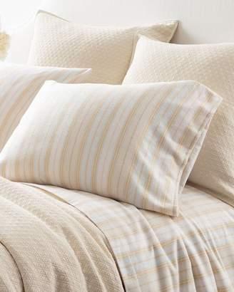 Pine Cone Hill Shelburne Stripe Flannel King Sheet Set
