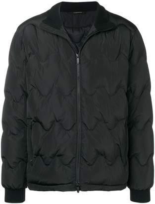 Ermenegildo Zegna zipped padded jacket