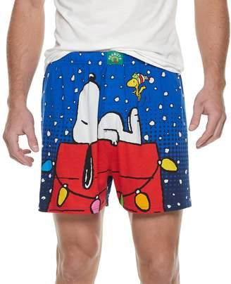 Men's Peanuts Snoopy Holiday Boxer Briefs