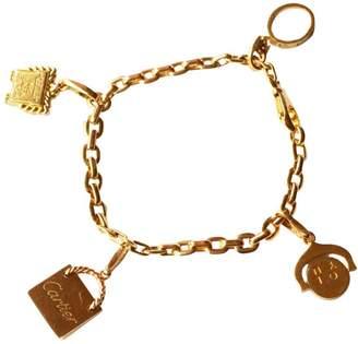 Cartier 18K Yellow Gold Charm Bracelet