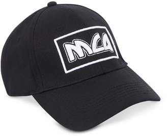 McQ Metal Logo Cotton Baseball Cap