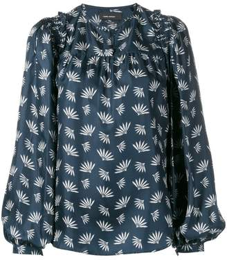 Isabel Marant wheat fan print blouse