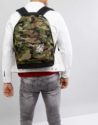SikSilk backpack in camo